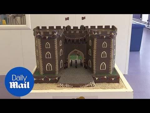 Cadbury serves up chocolate Windsor Castle for royal wedding - Daily Mail