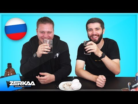 YOUTUBERS TRY RUSSIAN FOOD!