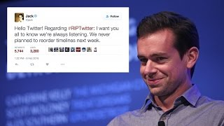 RIP #RIPTwitter: Twitter CEO Says The Site