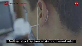 Recomendaciones esenciales de prevención del COVID-19 - Puesto de Trabajo