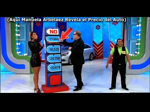 A Manuela Arbelaez Su Error le Costo $ 21,960 en Programa The price is Right (Subtitulo) HD