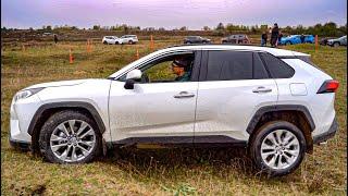 Первый Тест Российского Toyota RAV4 2019