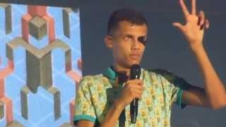 Stromae - Papaoutai & Band introduction - live Zenith Munich 2014-12-04