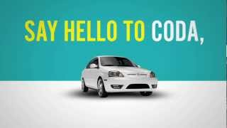 The 2012 CODA: The All-Electric Car from the All-Electric Car Company