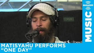 "Matisyahu ""One Day"" Live at SiriusXM. Best Hasidic Jewish Reggae Beatboxing Ever."