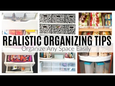 HOW TO GET ORGANIZED! | 7 ORGANIZING TIPS TO GET ORGANIZED & STAY ORGANIZED | HOME ORGANIZING TIPS