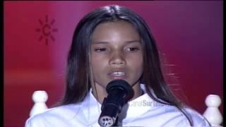 """India Martínez canta con doce años """"La hija de Juan Simón"""" (""""Veo veo"""" 1998)"""