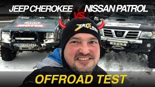 500HP Offroad Duel: Jeep Cherokee vs Nissan Patrol