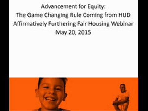 Advancement for Equity: The Game Changing Rule Coming from HUD