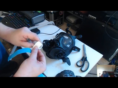🛠 HowTo Make a CPAP Mask from Gas Mask