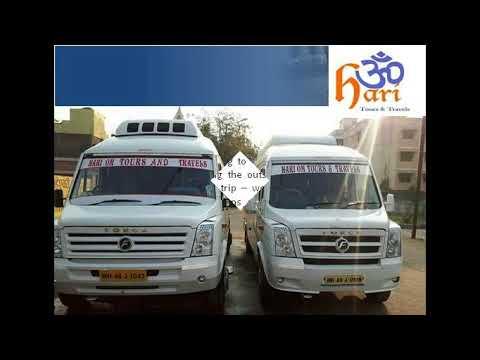 traveller bus rent in nagpur