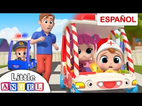 Las Ruedas De La Ambulancia Del Doctor Bebé Juan   Canciones Infantiles