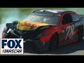 "Radioactive: Talladega - ""De-(expletive)-stroyed. People flippin' and (expletive)."""