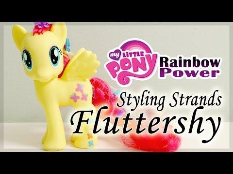 My Little Pony : Rainbow Power - Styling Strands Fluttershy