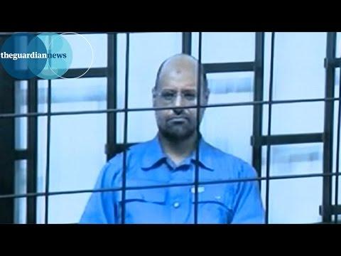 Colonel Gaddafi's son Saif al-Islam sentenced to death in Libya