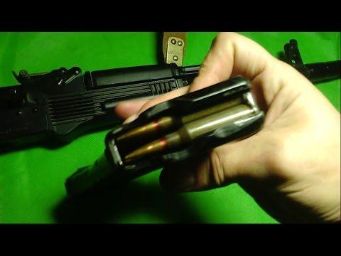 Обзор макета АКС-74 5.45х39 ММГ / Охолощенное оружие - YouTube