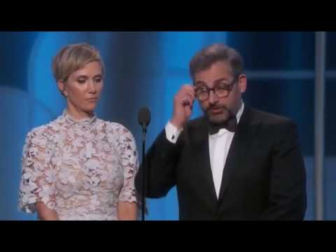 Steve Carell & Kristen Wiig HILARIOUS in Golden Globes 2017