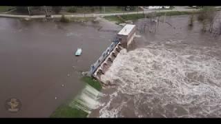 Sanford, Michigan Dam Failing - May 19th 2020 Flooding