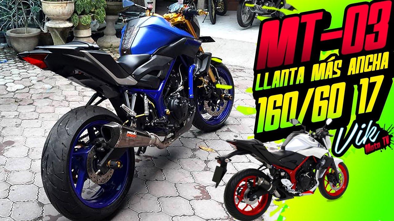 Se puede poner una llanta más ancha en mi moto? / Motovlog - YouTube