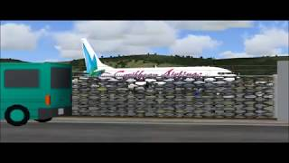 FS2004 - Caribbean Airlines Boeing 737-800 Takeoff