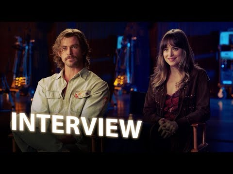 Chris Hemsworth & Dakota Johnson Interview - Bad Times at the El Royale (2018)