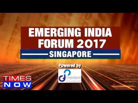 Emerging India Forum Singapore 2017