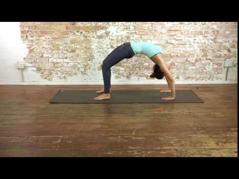 1 yoga advanced  upward bow pose  youtube