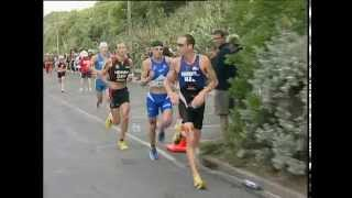 Ones of the greatest triathlon sprint finishes ever