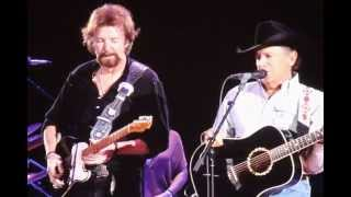 George Strait and Ronnie Dunn - Cowboy Rides Away