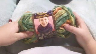 Lions Brand Chenille Yarn Review