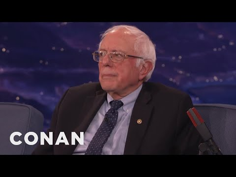 Senator Bernie Sanders Wishes He Could've Run Against Trump  - CONAN on TBS