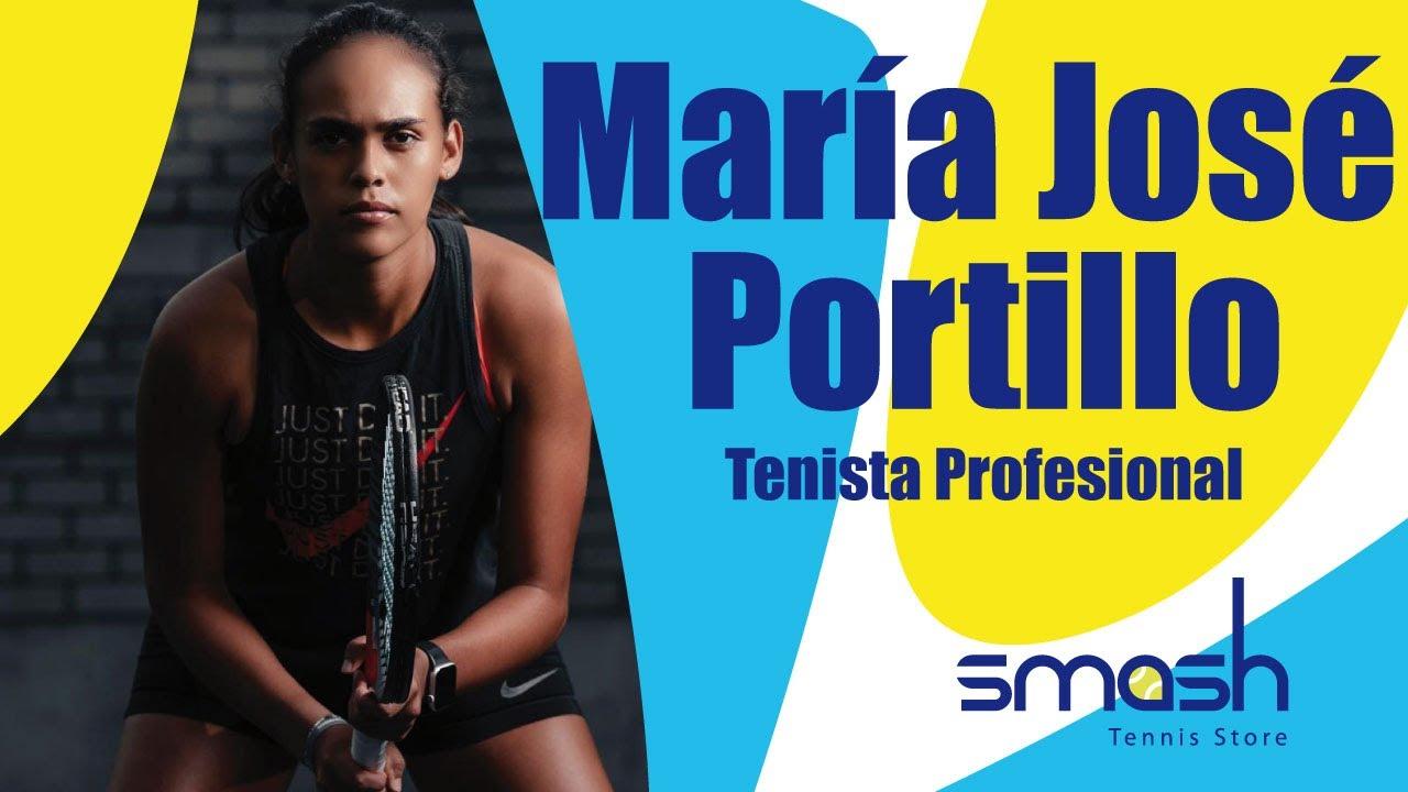 María José Portillo | Tenista Profesional | Smash Tennis