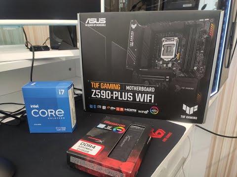 Материнская плата Asus TUF Gaming Z590-Plus Wi-Fi (s1200, Intel Z590, PCI-Ex16)