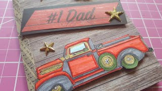 FATHER'S DAY ENVELOPE FLIP BOOK | SHOW & TELL