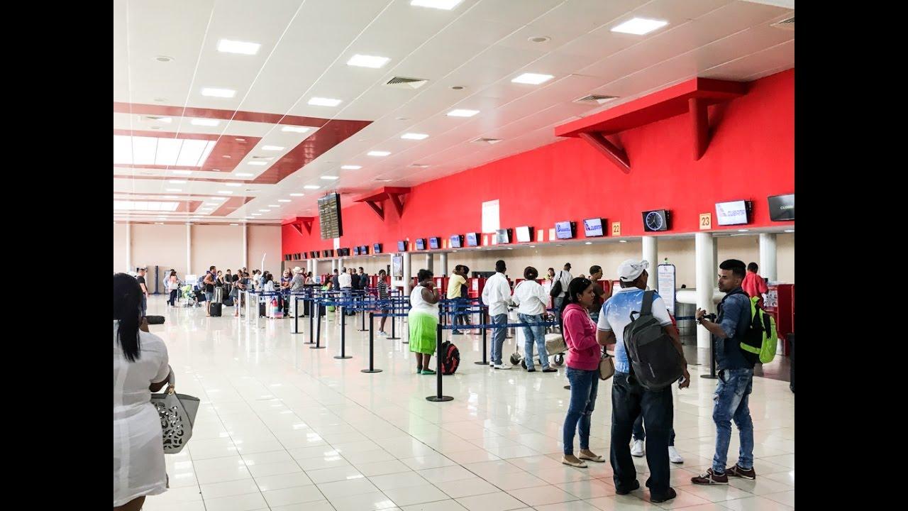 Aeroporto Havana Arrivi : Terminal havana cuba josé martí international airport hav youtube
