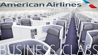 American Airlines BUSINESS CLASS London to New York|Boeing 777-300ER