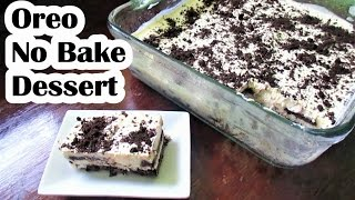 oreo cake no bake recipe