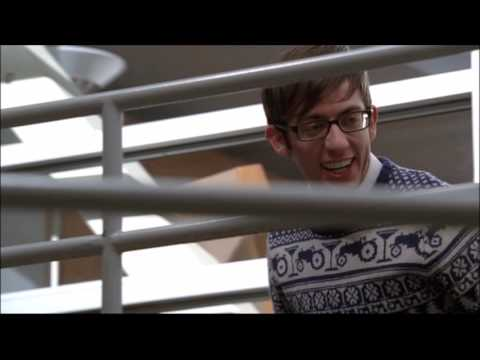 Glee - Artie helps Quinn get up a ramp at school and asks her to come with him for senior ditch day