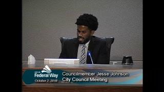 10/02/2018 Federal Way City Council - Regular Meeting