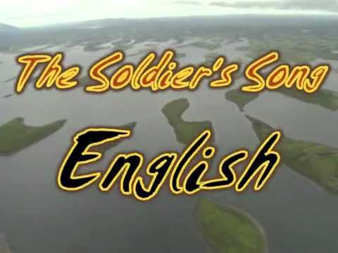 Irish Anthem Gaelic & English
