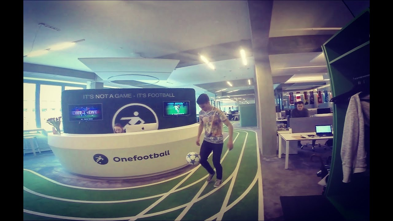 a day at the office insane soccer skills at onefootball