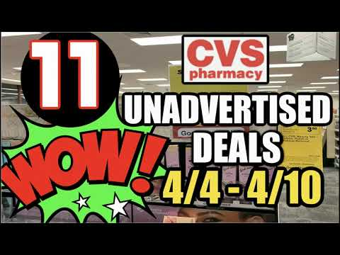 CVS UNADVERTISED DEALS (4/4 – 4/10) | FREEBIE UPDATE & MORE!