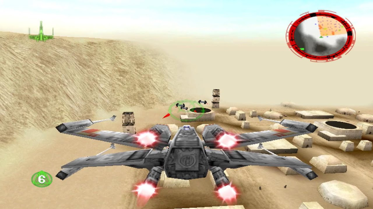 Star Wars: Rogue Squadron 3D (PC) gameplay - Chapter I - YouTube
