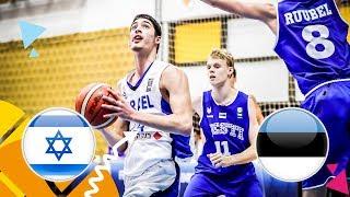 LIVE 🔴 - Israel v Estonia - Class. 9-12 - FIBA U16 European Championship 2018