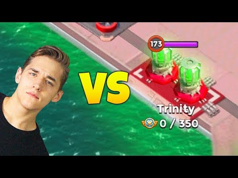 CHRISTIAN Tries to Attack Duplexity in Boom Beach!