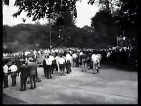 Peekskill Outrage - Sidney Poitier, Pete Seeger, Paul Robeson