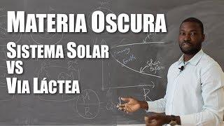 Materia Oscura: Sistema Solar vs. Vía Láctea