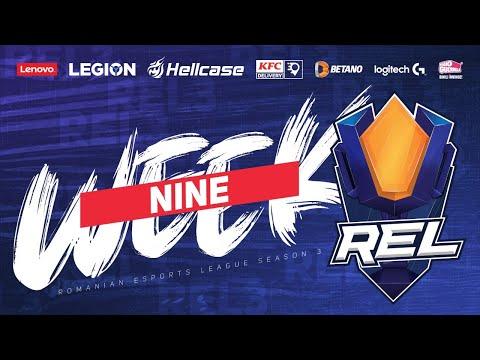 RES - Romanian esports - REL S3 • ULTIMA ETAPA • Week #9 • I