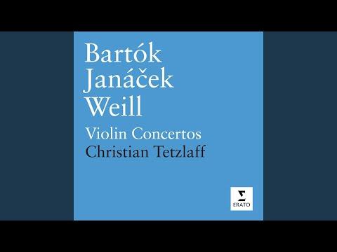 Violin Concerto No. 2 in B minor Sz112: I. Allegro non troppo