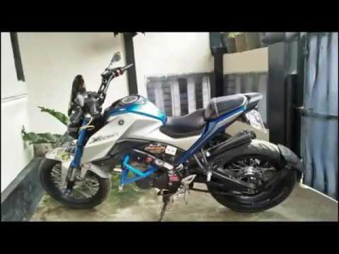 Yamaha Xabre Modifikasi Jari Jari Tapak Lebar Tubles